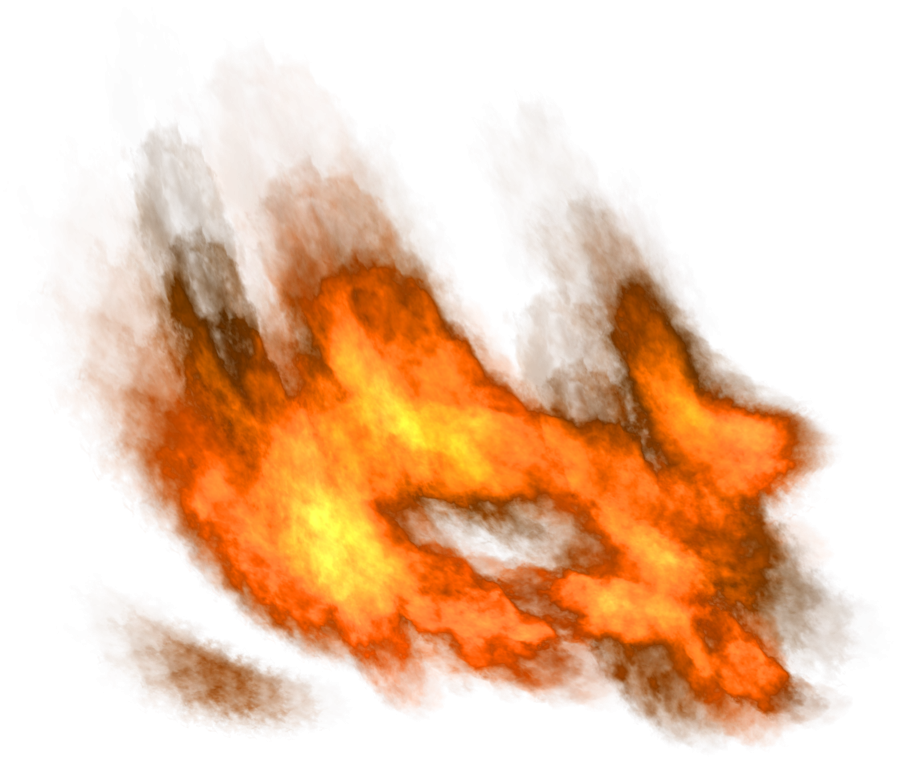 Fire Flames Burning PNG Image