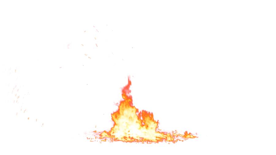 Little Ground Flame PNG Image
