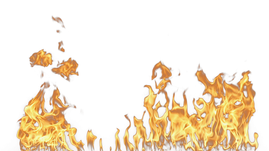 Fire Flames Ground PNG Image