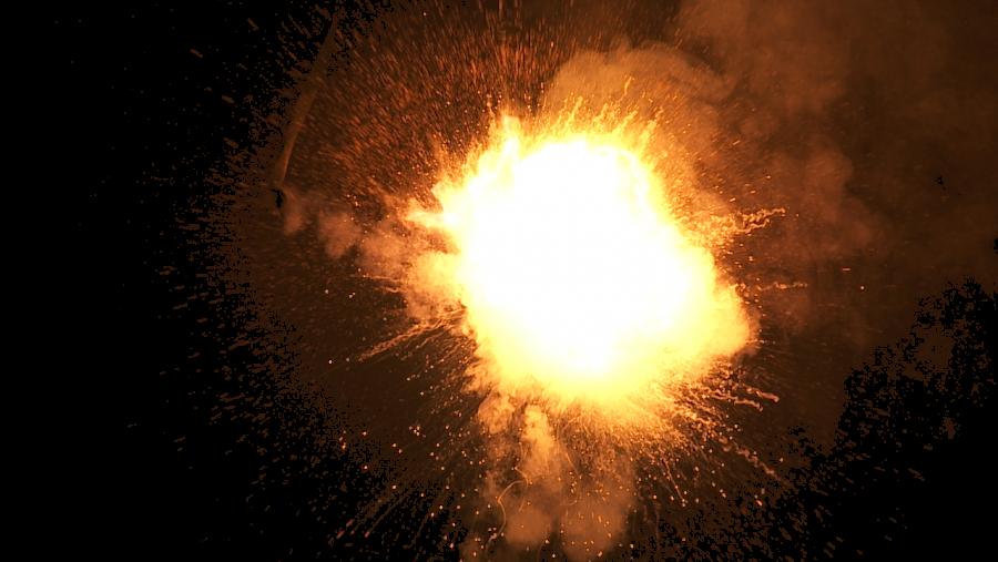 Sparkling Explosion PNG Image