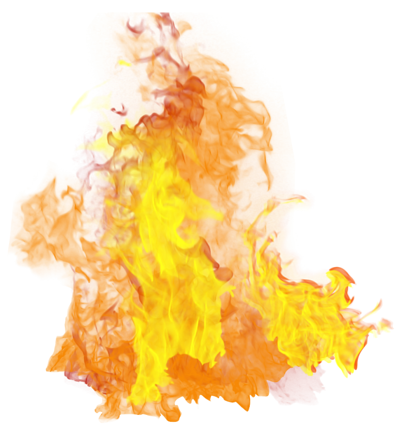 Hot Flame  PNG Image