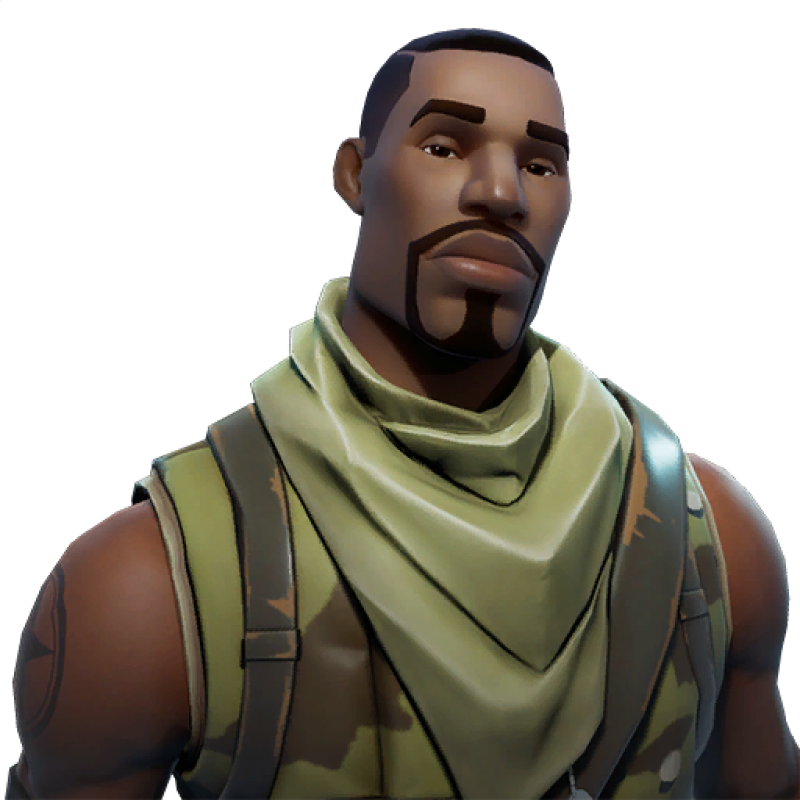 Fortnite Commando PNG Image