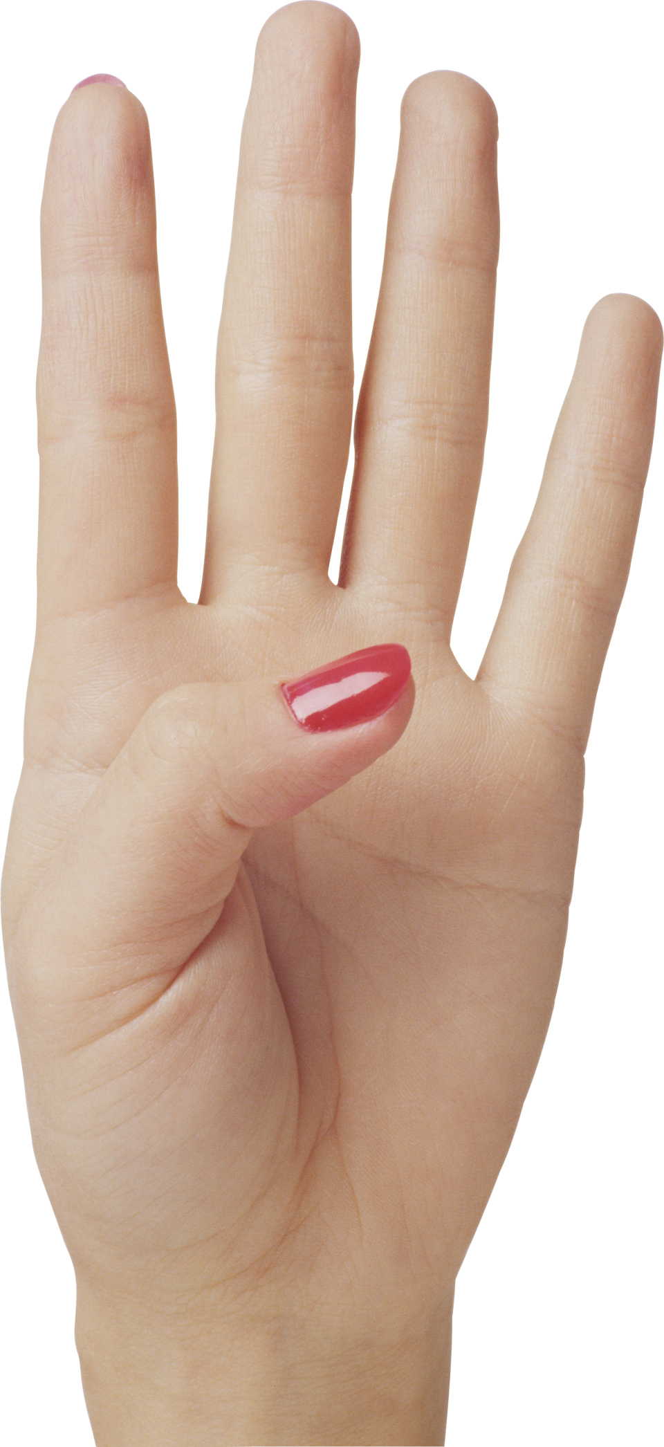 Four Finger Hand PNG Image