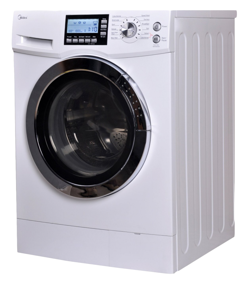Front Loading Washing Machine PNG Image