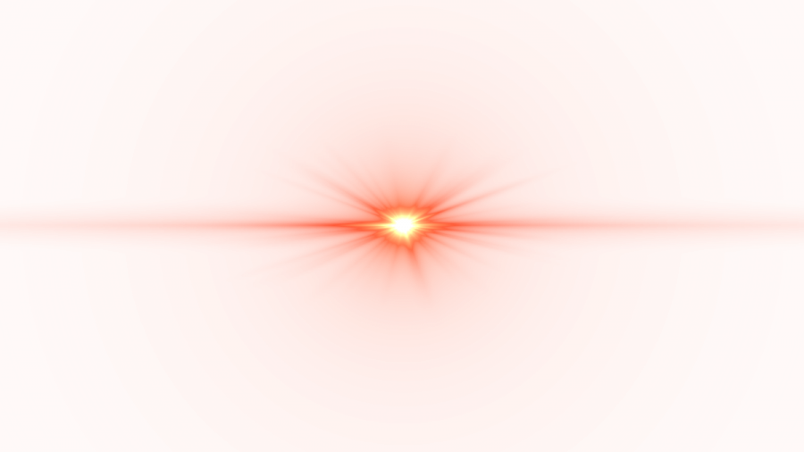 Front Red Lens Flare PNG Image