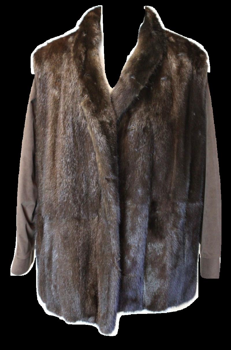Fur Coat Burned PNG Image