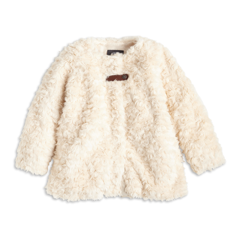 Fur Coat White PNG Image