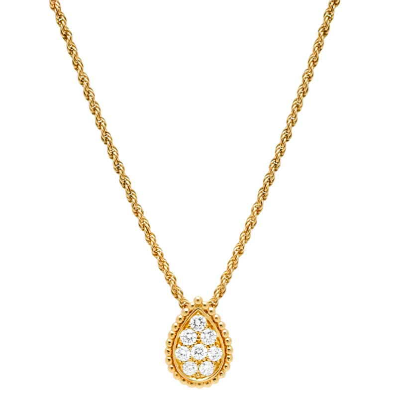 Gold Pendant PNG Image