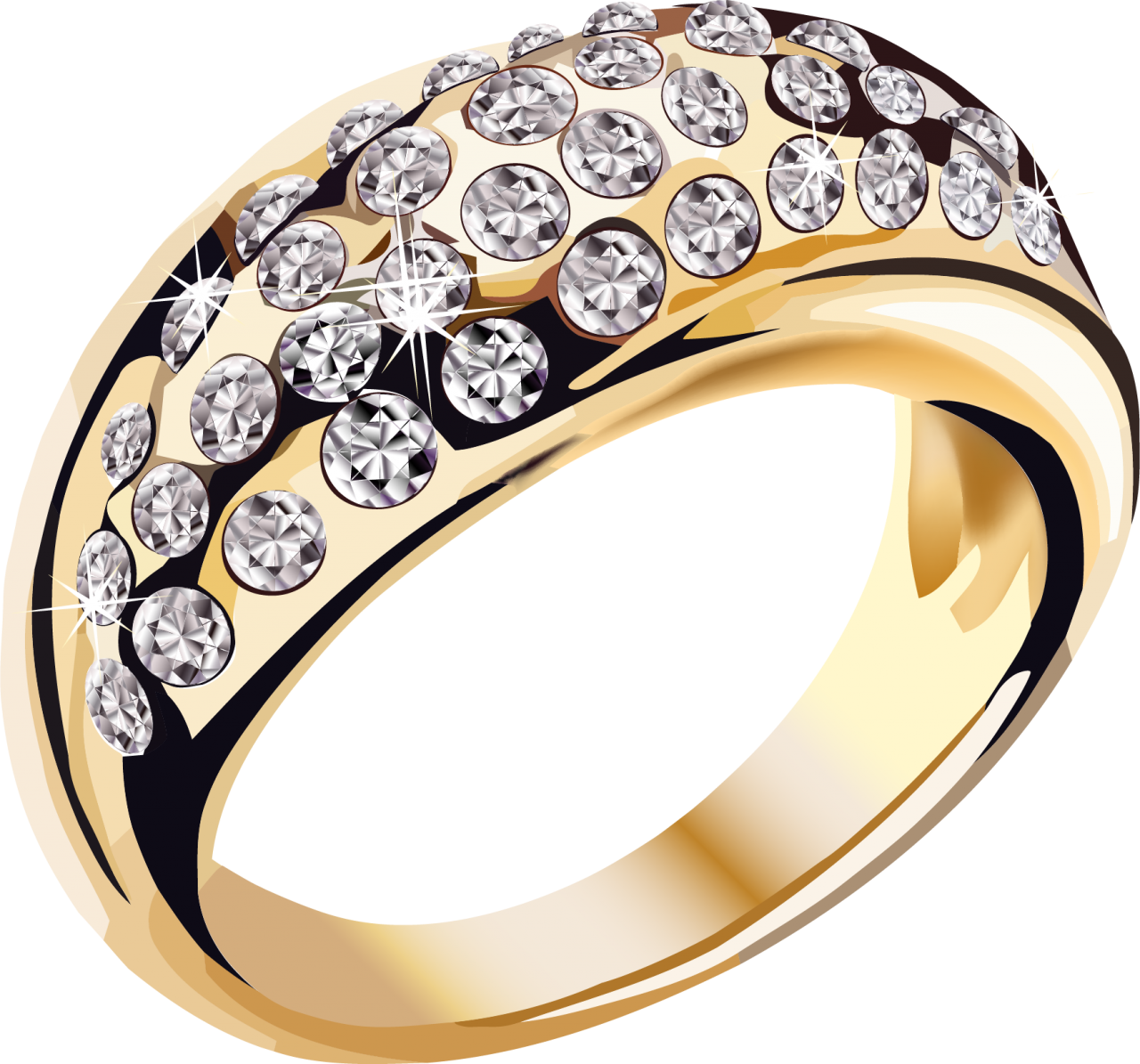 Gold Ring PNG Image