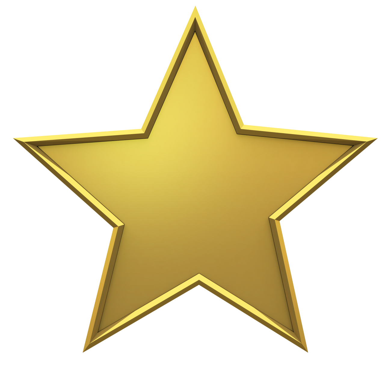 Golden Christmas Star PNG Image - PurePNG   Free ...