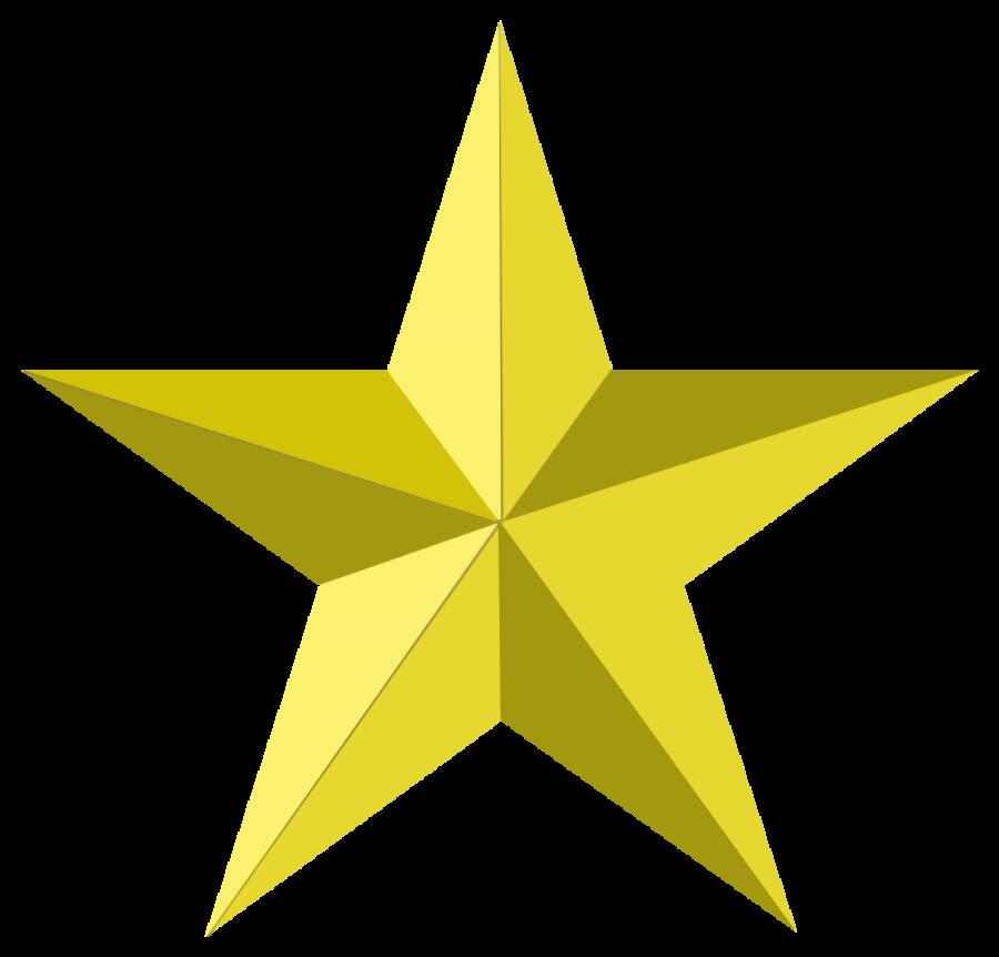 Decorative Christmas Star PNG Image