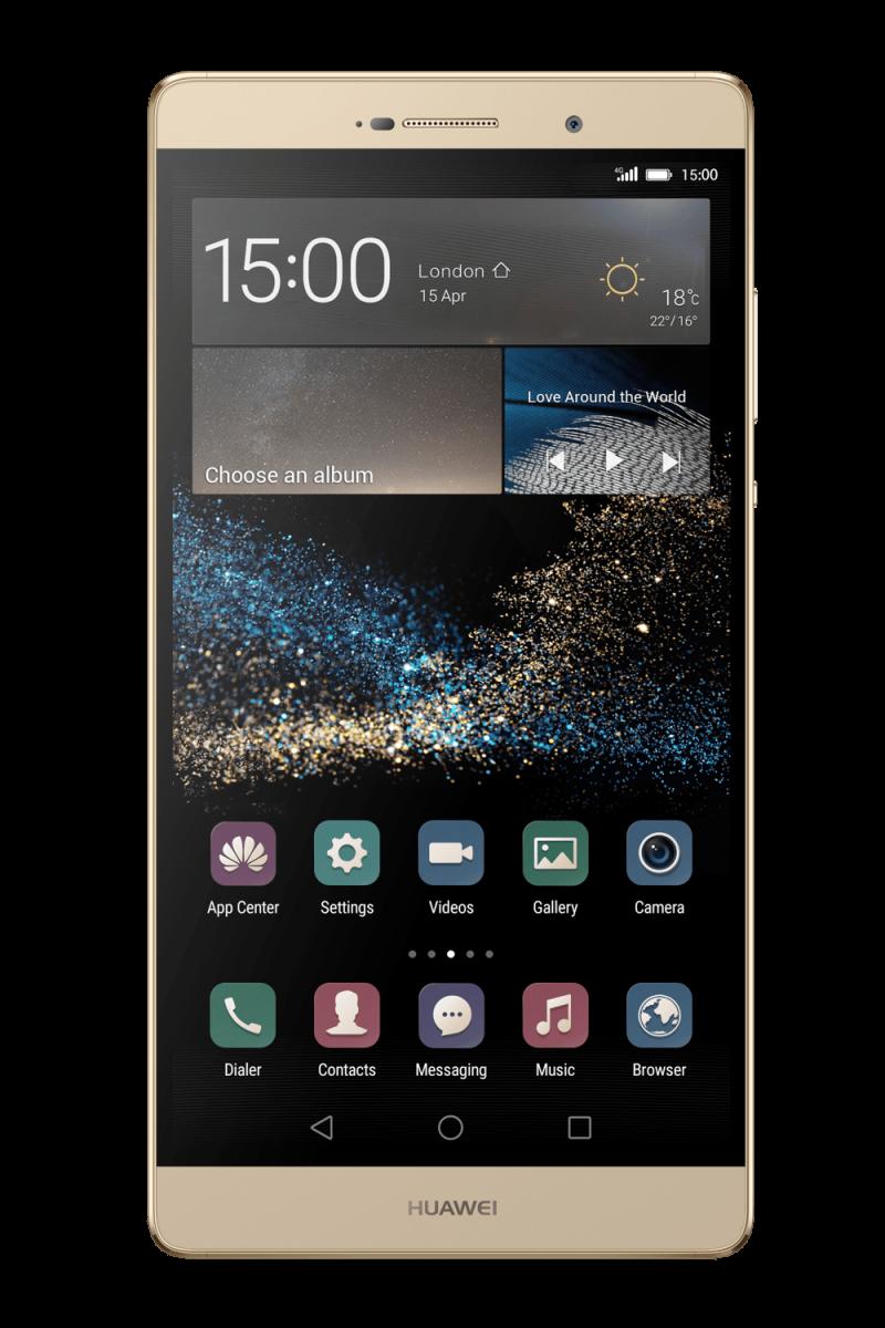 Golden Whide Huawai Smartphone PNG Image