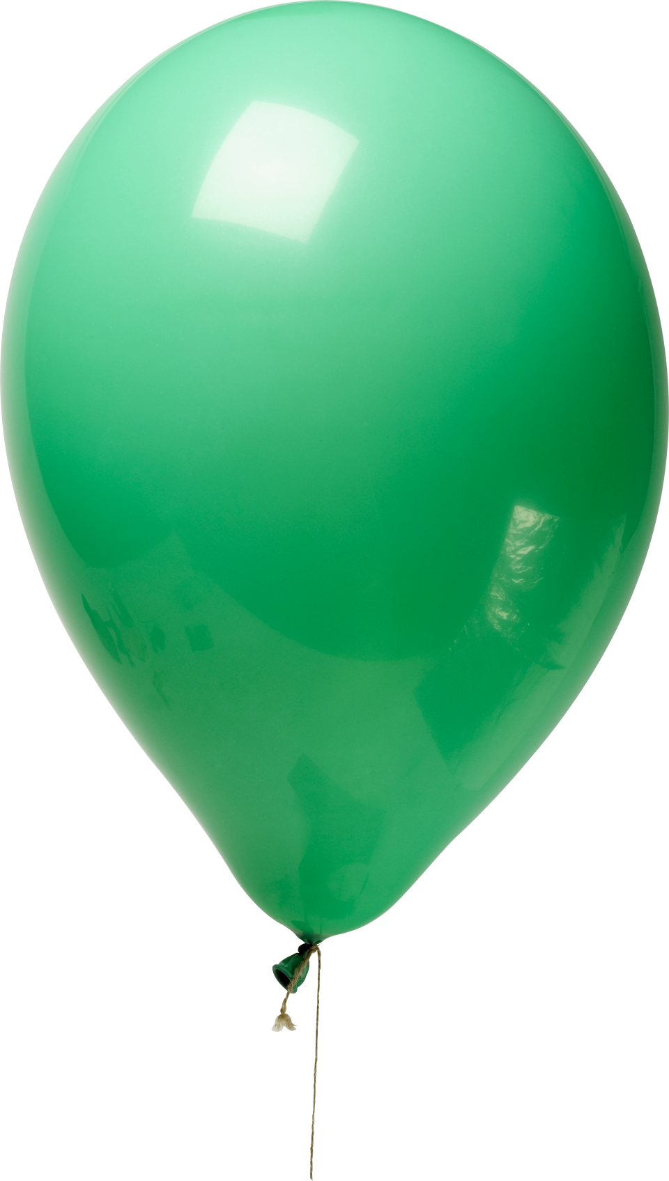 Green Balloon PNG Image