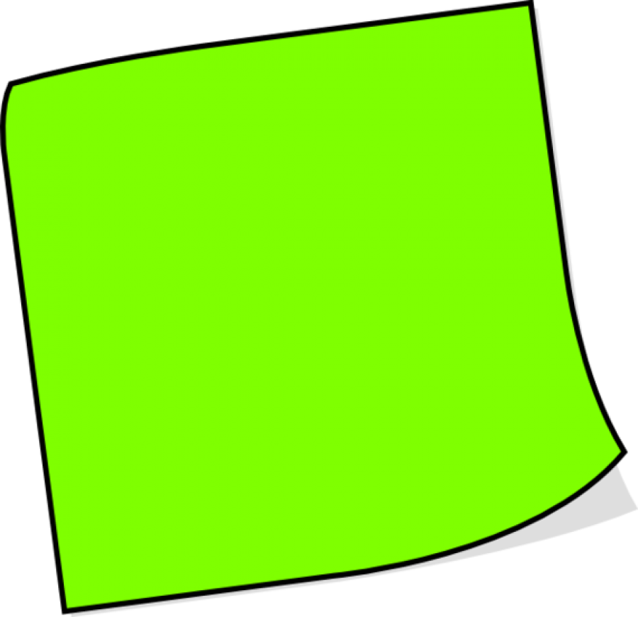 Green Sticky Notes PNG Image - PurePNG   Free transparent ...