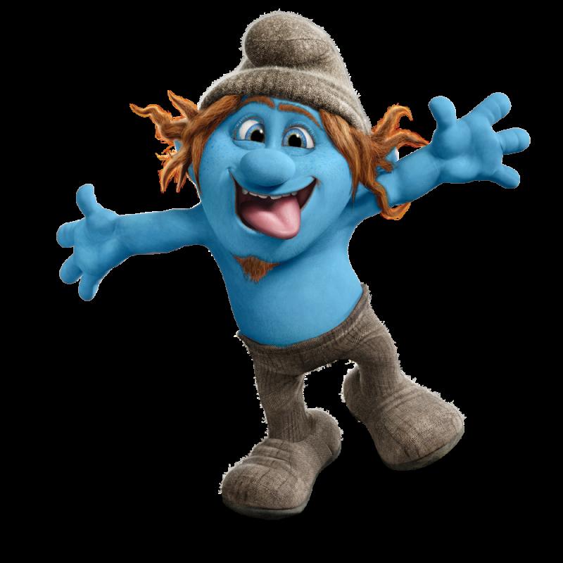 Hackus Smurf PNG Image