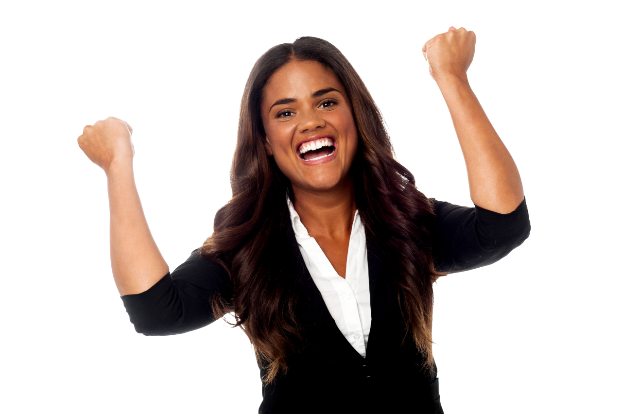 Happy Girl PNG Image