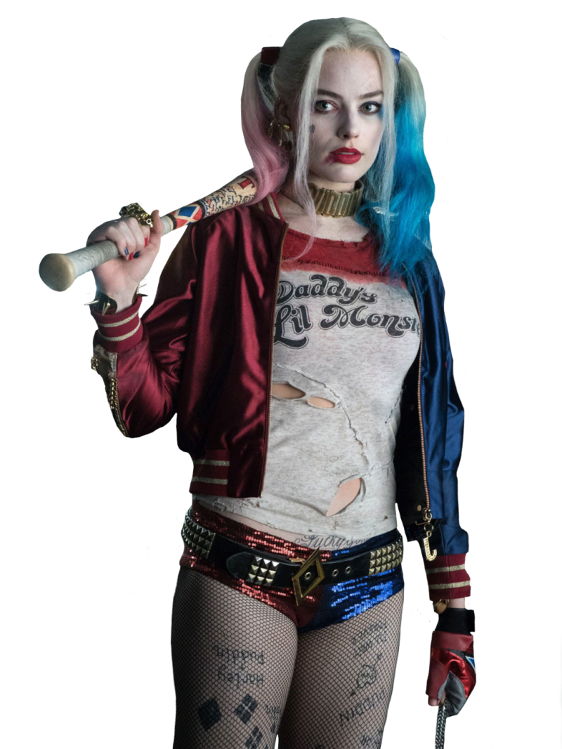 Harley Quinn Suicide Squad PNG Image