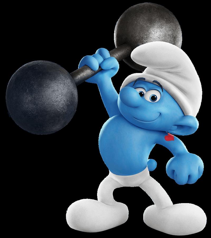 Hefty Smurf PNG Image