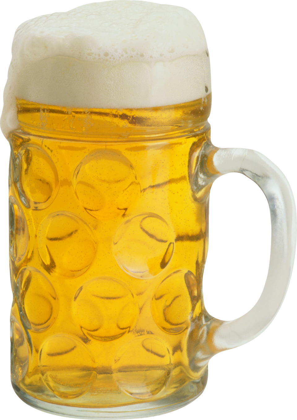 Ice Cold Beer in Mug PNG Image