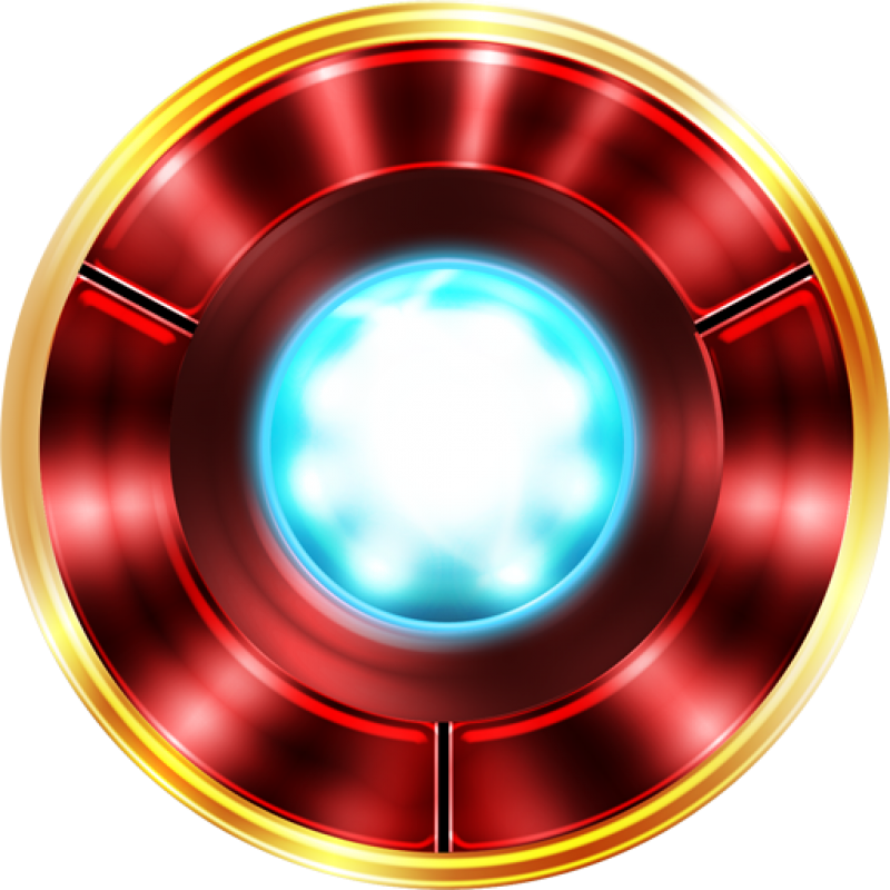 Ironman  Arc Reactor\ PNG Image