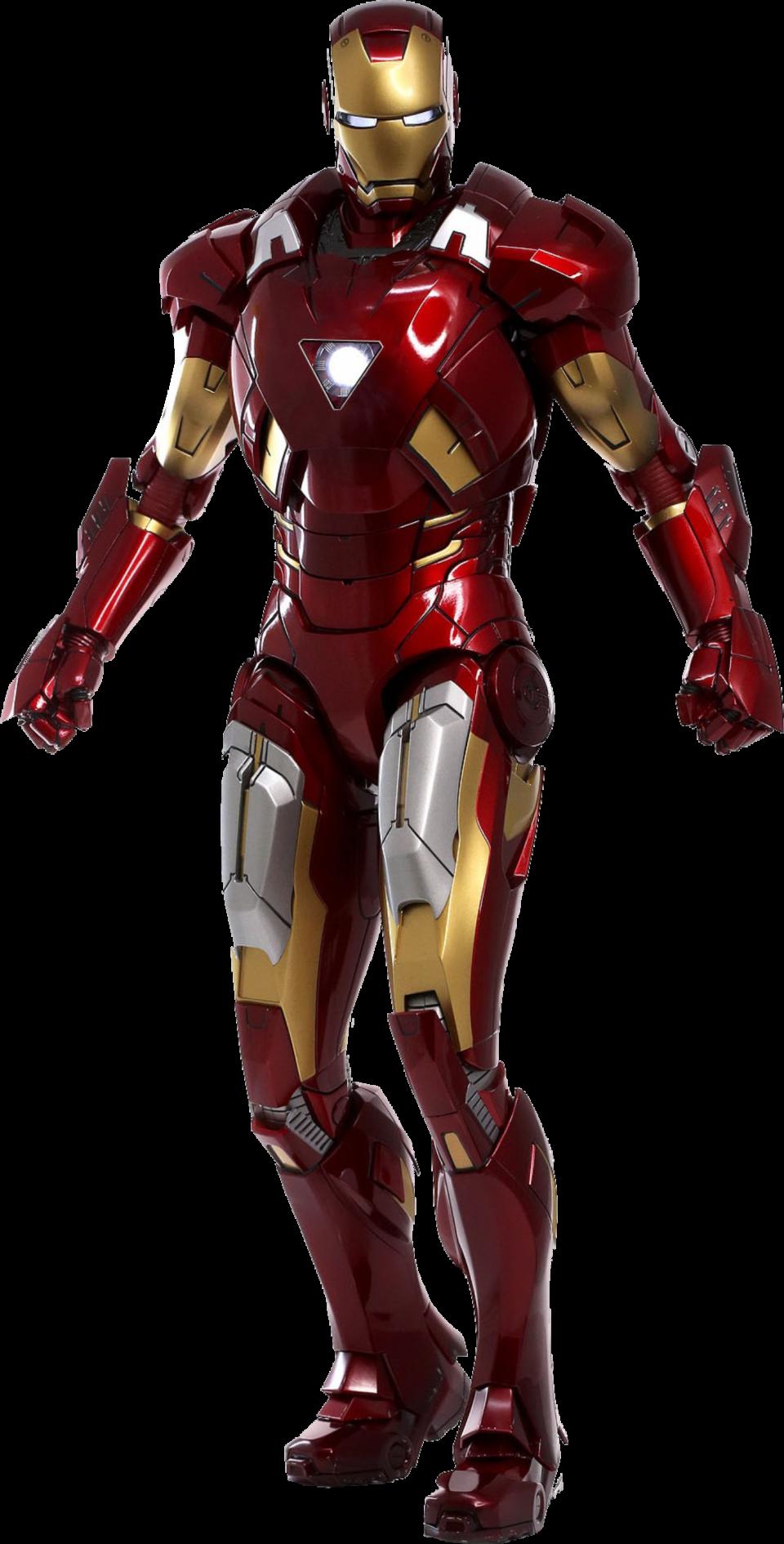 Ironman Tony Stark PNG Image
