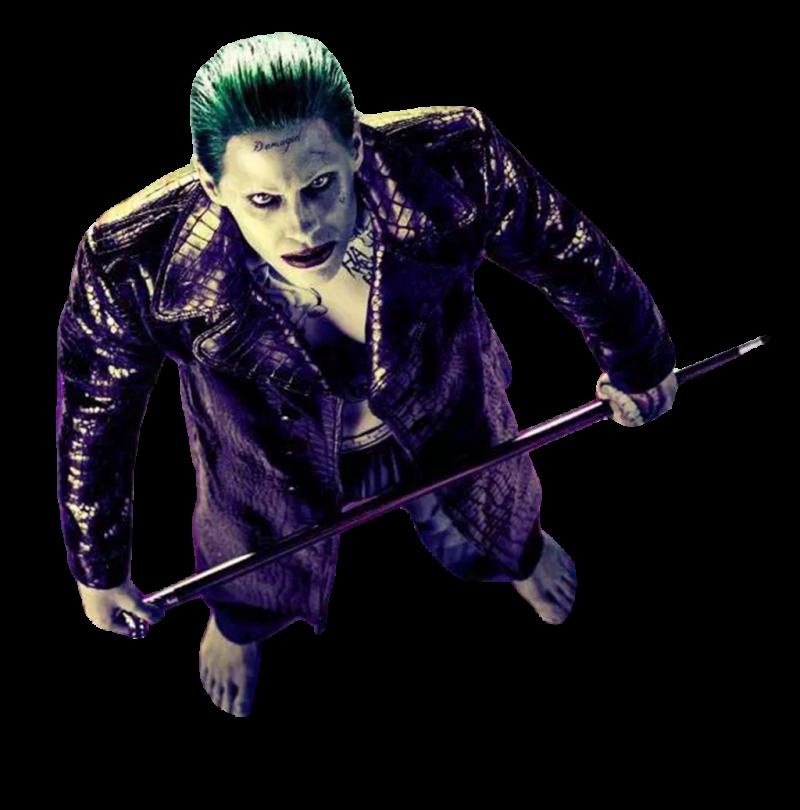 Joker Suicide Squad PNG Image