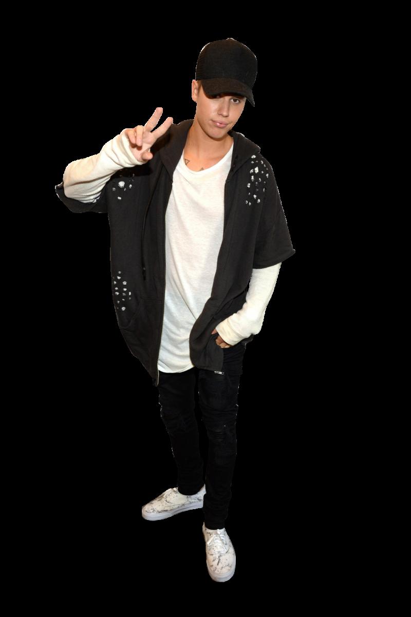 Justin Bieber Posing PNG Image