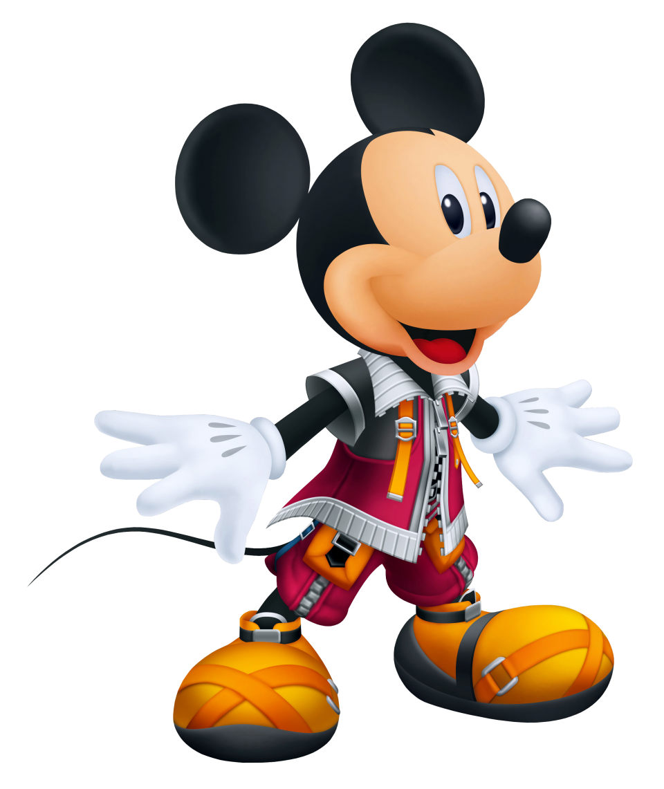 King Mickey  Mouse PNG Image