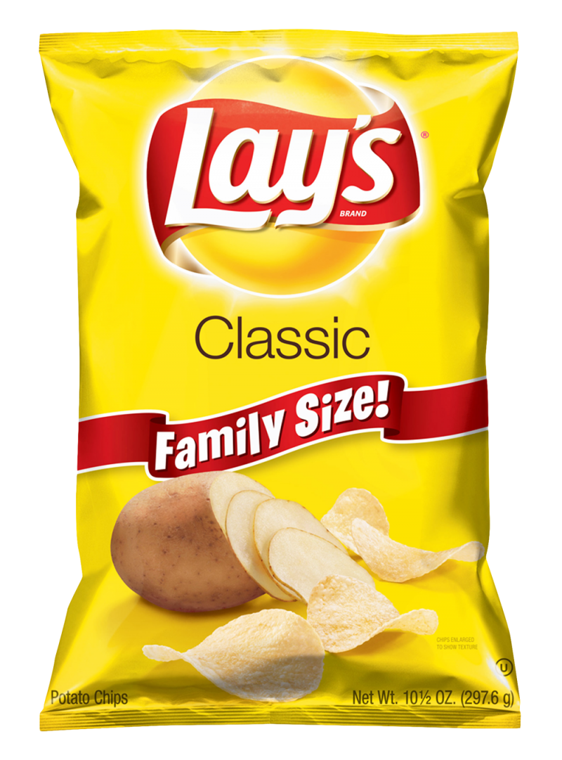 Lays Potato Chips PNG Image
