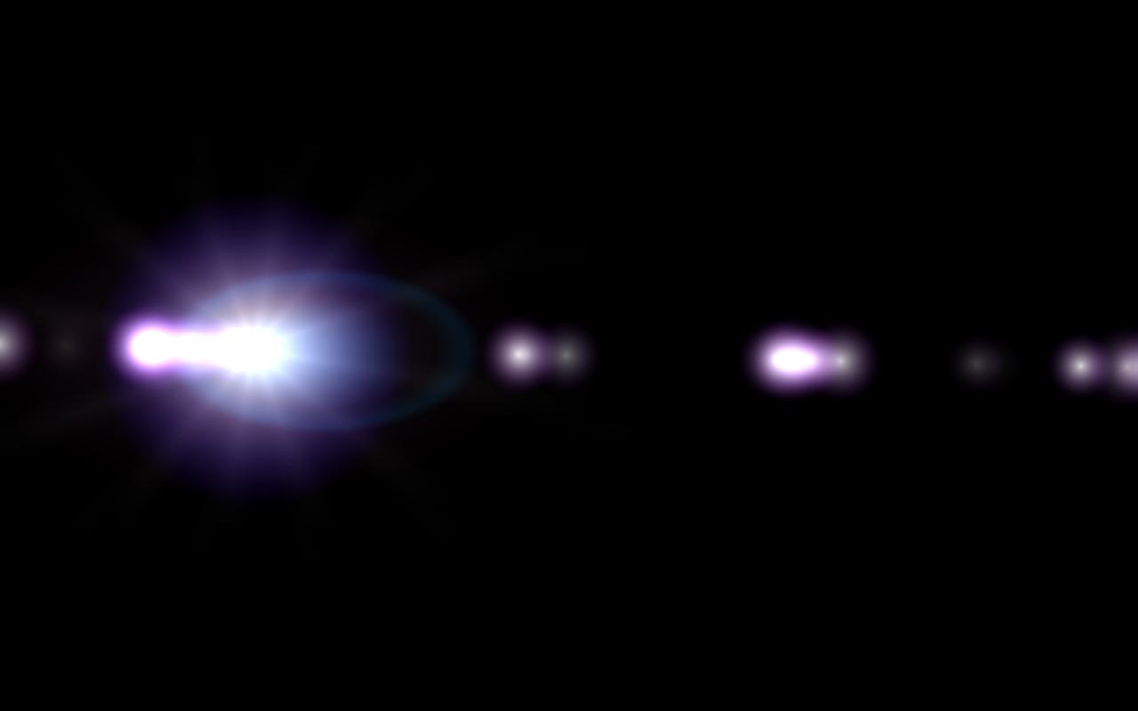 Left Lens Flare PNG Image