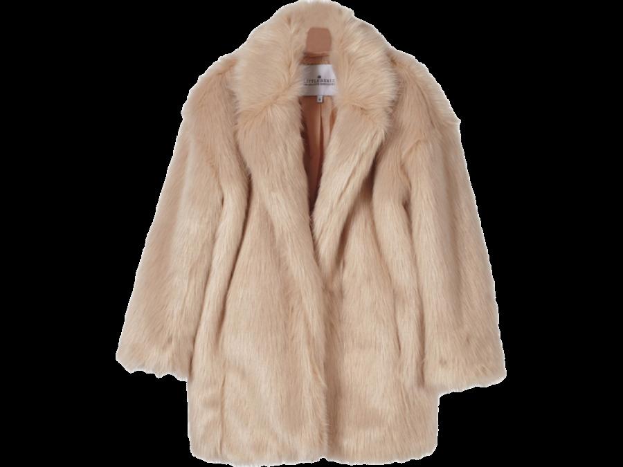 Little remix Jr Fur Coat Cardy PNG Image