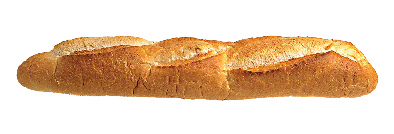 Long Loaf Bread PNG Image