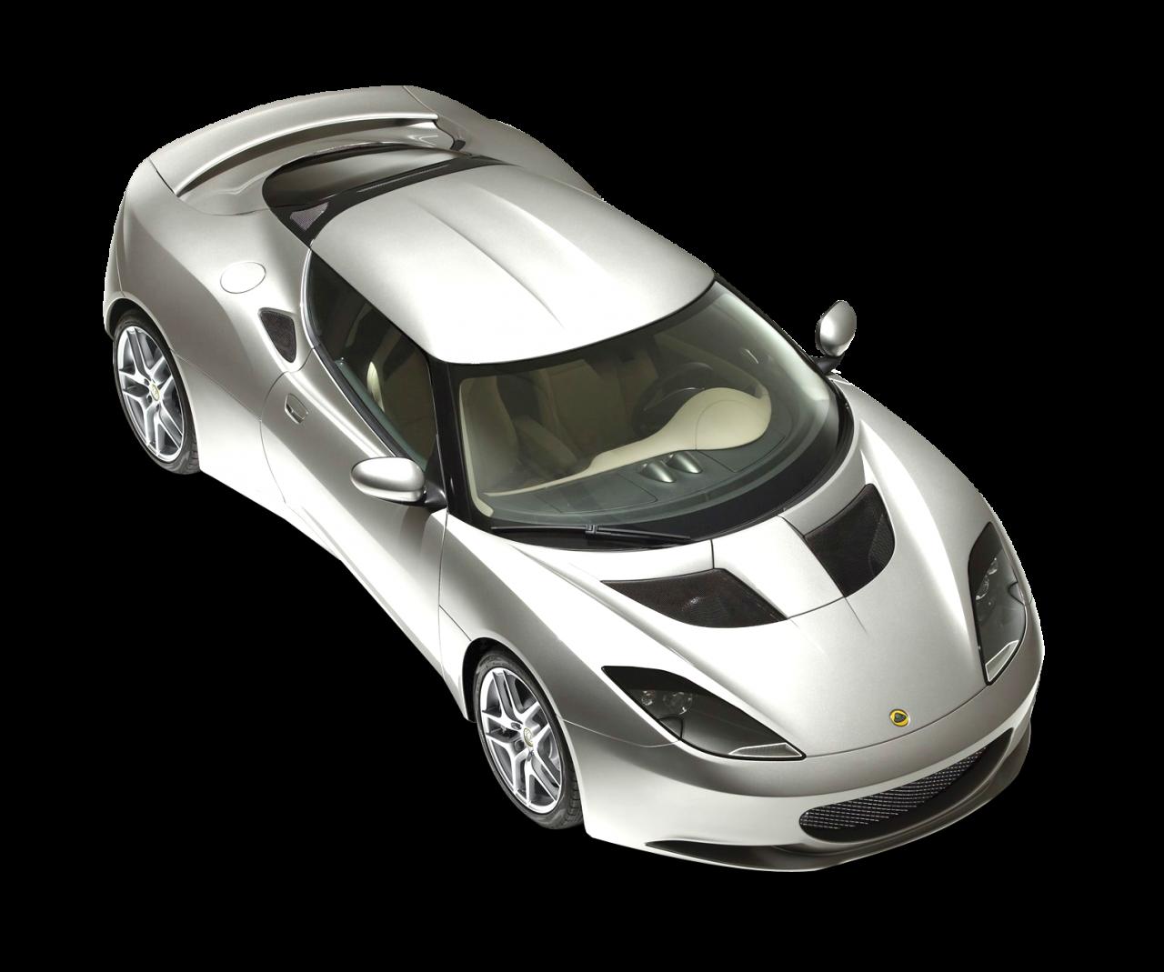 Lotus Evora Top View Car PNG Image - PurePNG