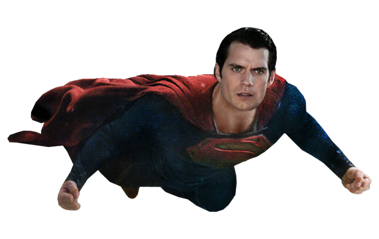Man Of Steel   Super Man PNG Image