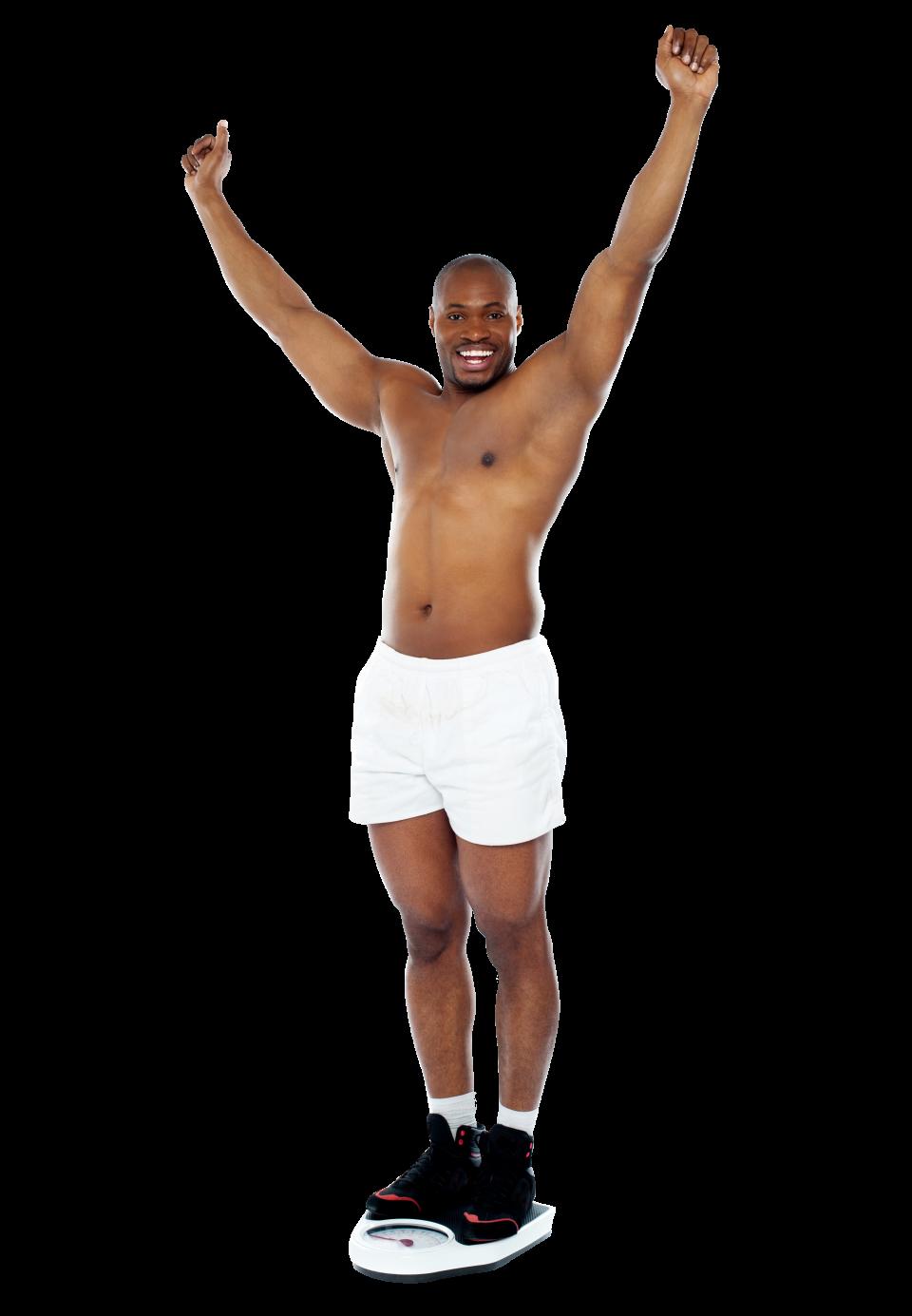 Men Fitness PNG Image