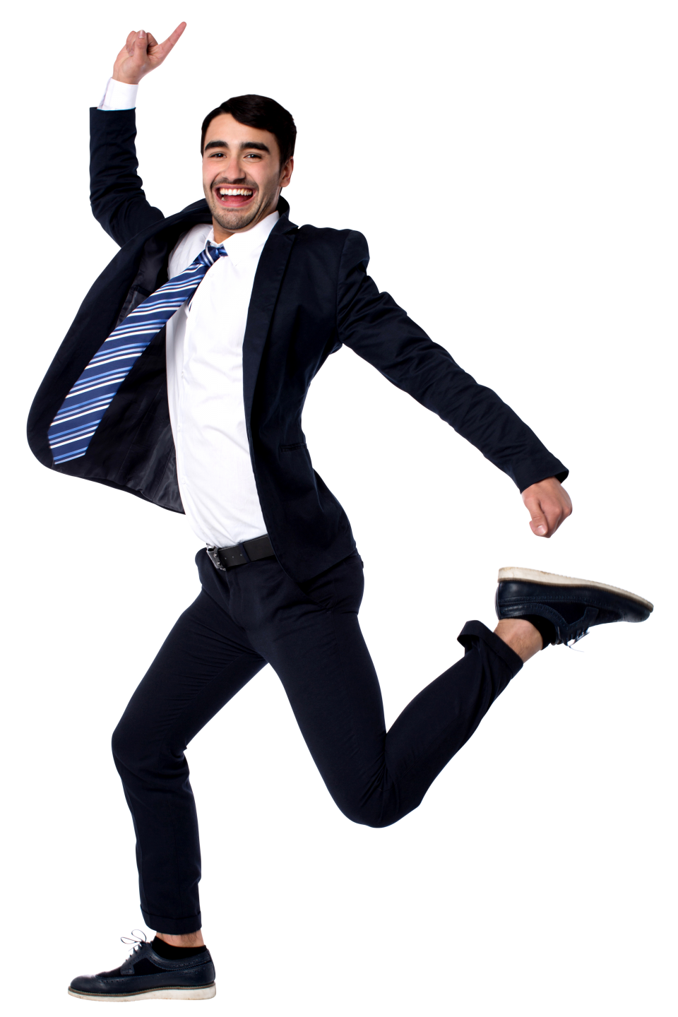 Men Pointing Up PNG Image