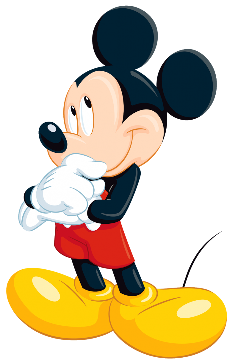 Mickey Mouse  Cute PNG Image