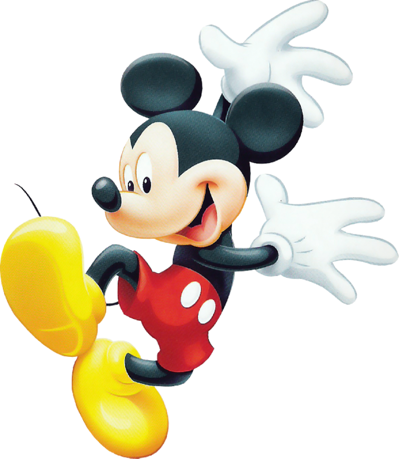 Mickey  Mouse Happy PNG Image