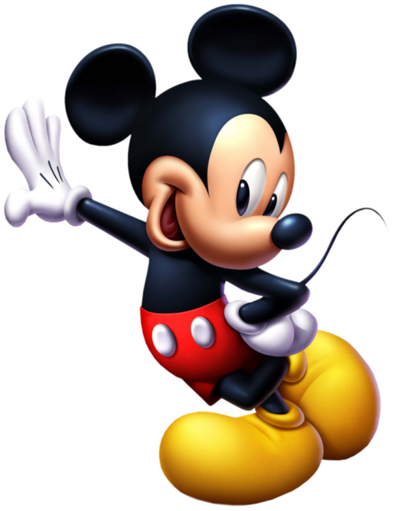 Mickey  Mouse Standing PNG Image