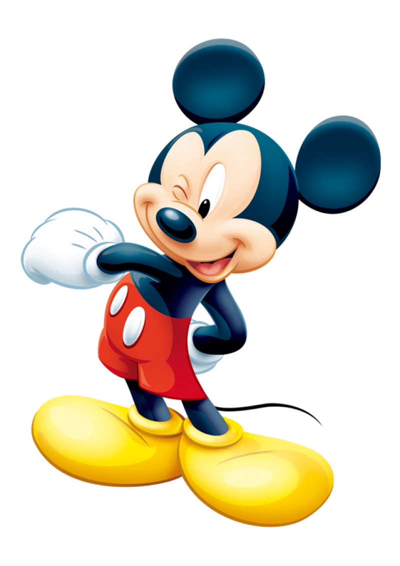 Mickey  Mouse Wink PNG Image