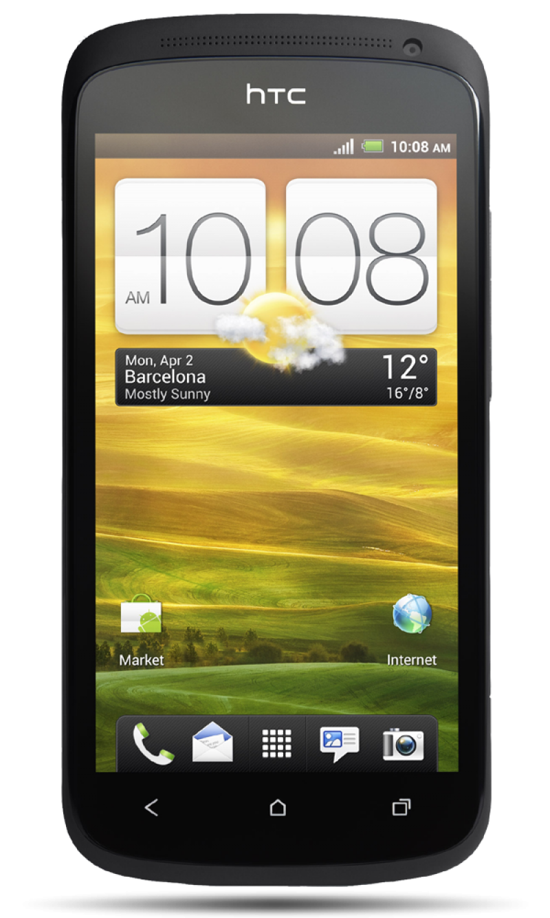HTC One X Black PNG Image