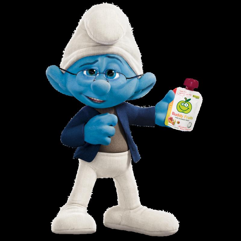 Narrator Smurf PNG Image