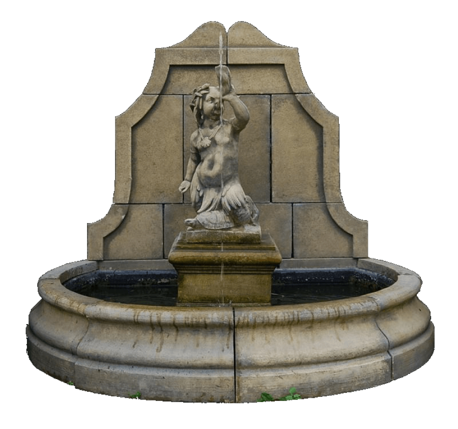 Old Fountain PNG Image