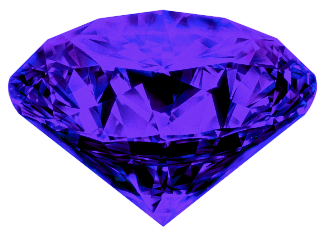 One And Half Diamond PNG Image