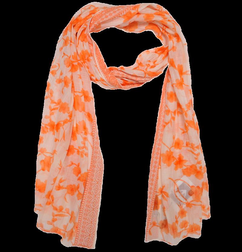 Orange Printer Scarf PNG Image