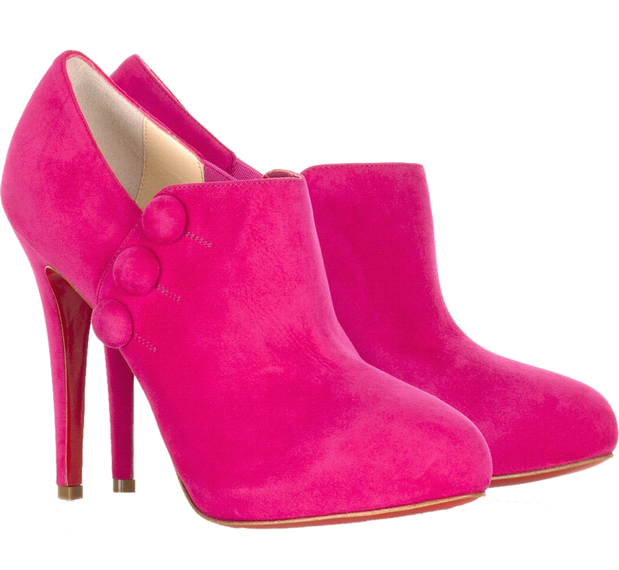 Pink Women Boot PNG Image