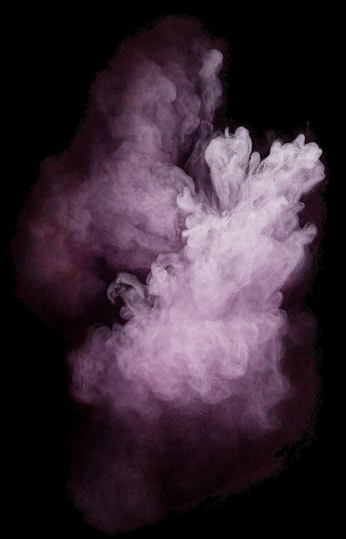 Purple Powder Explosion PNG Image