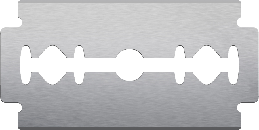 Razor Blade PNG Image
