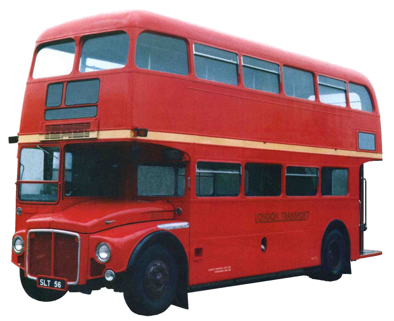 Red Bus PNG Image