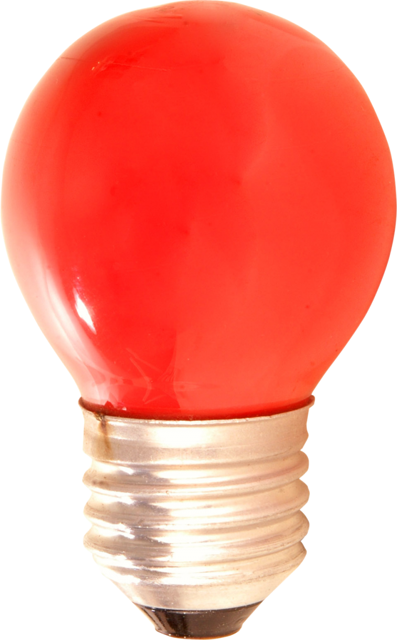 Red Lamp PNG Image